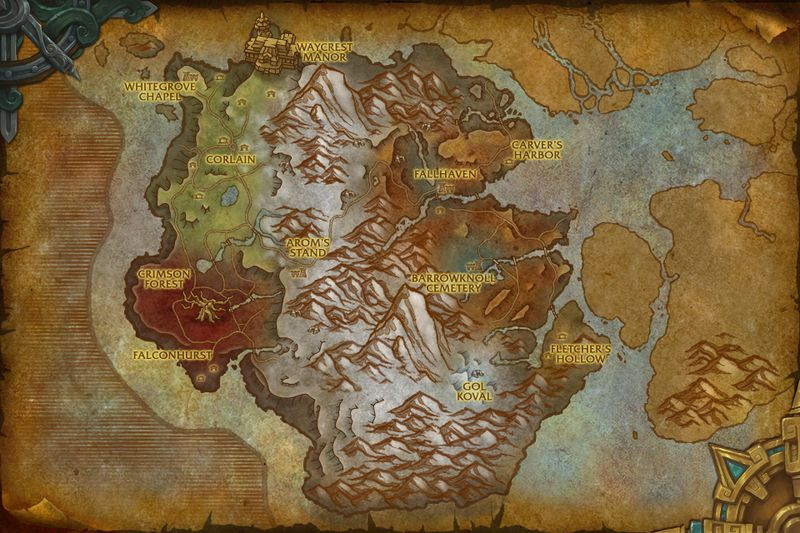 Drustvar_Map